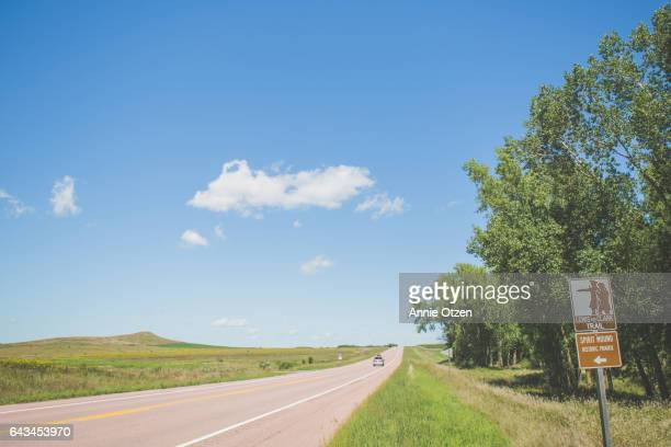 america's heartland - spirit mound - meriwether lewis stock photos and pictures