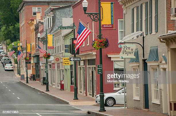 """america""""s main street - virginia stock pictures, royalty-free photos & images"""
