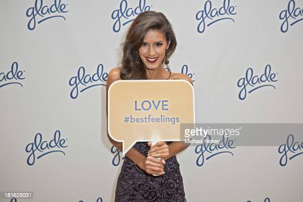 'America's Next Top Model' Cycle 8 winner Jaslene Gonzalez attends as Chicago tastemakers join Glade to host an awards viewing party at Public Hotel...