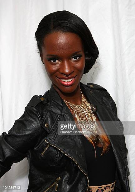 America's Next Top Model Winner Krista White attends the New Zealand Fashion Week kick off cocktail party on September 20 2010 in Auckland New Zealand