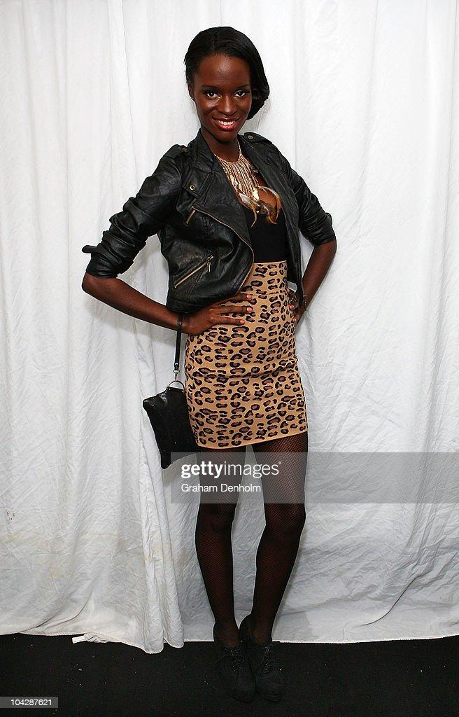 Americas Next Top Model winner Krista White attends the