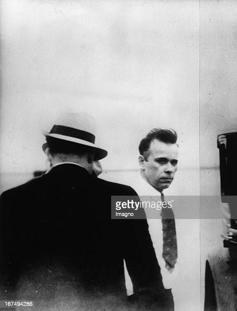 Americas 'Public Enemy Nr 1 ' John Dillinger at his last arrestment in Tucson 1934 United States Photograph Amerikas 'öffentlicher Feind Nr1' John...
