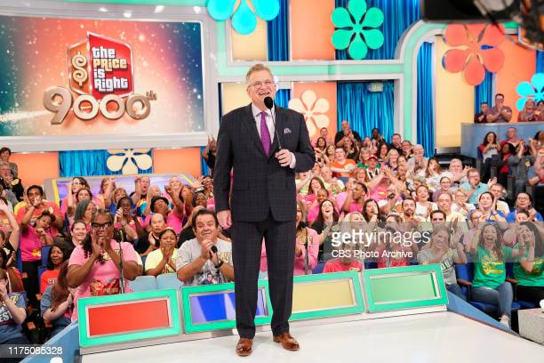 America's toprated and longestrunning game show THE PRICE IS RIGHT 9000 Anniversary episode hosted by Drew Carey featuring special guest model...