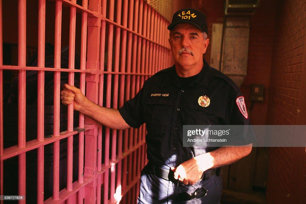America's toughest Sheriff Gerald Hege in Davidson County