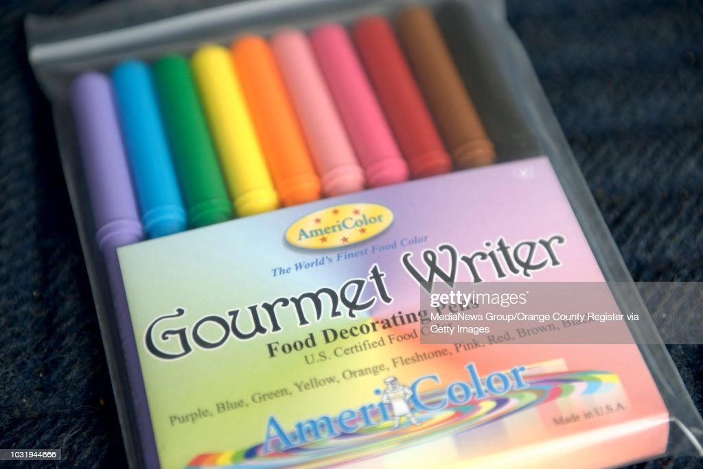 Americolor food coloring markers for drawing on food ...