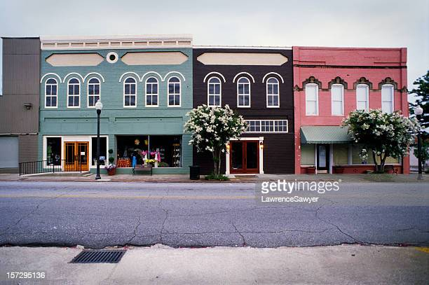 americus, georgia, usa - facade stock pictures, royalty-free photos & images
