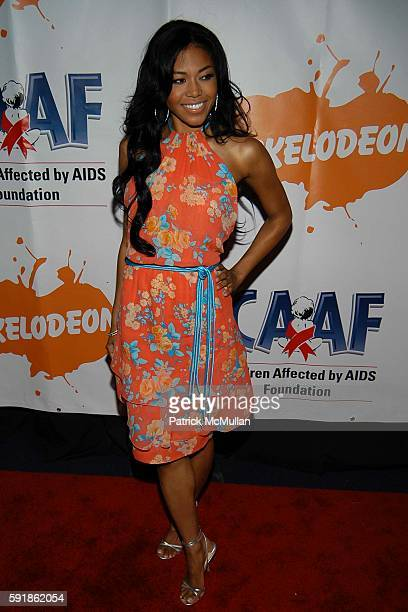 Amerie attends Dream Halloween Fundraising Event to Benefit the Children Affected by AIDS Foundation at The Nokia Theater on October 23 2005 in New...