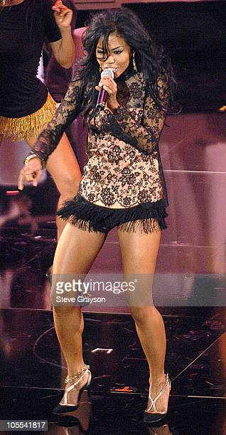Amerie during 10th Annual Soul Train Lady of Soul Awards Show at Pasadena Civic Auditorium in Pasadena California United States