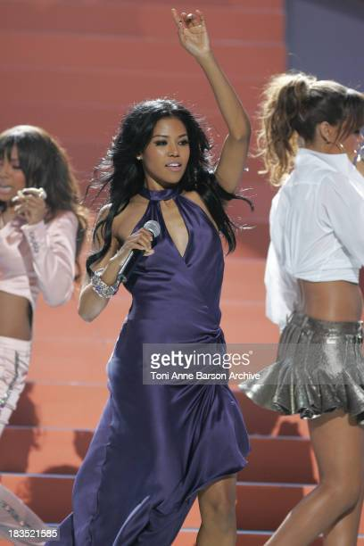 Amerie during 2005 World Music Awards Show at Kodak Theatre in Los Angeles CA United States