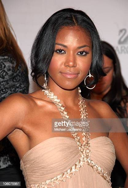 Amerie during 2006 CFDA Awards Arrivals at New York Public Library in New York City New York United States