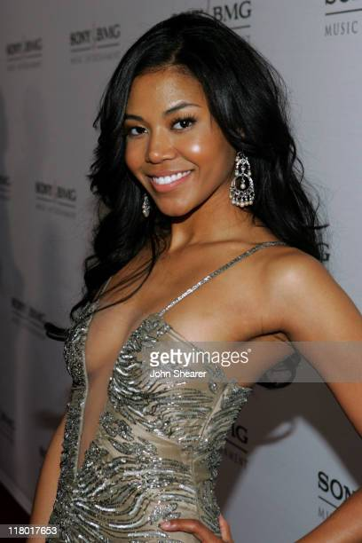Amerie during 2006 Sony/BMG GRAMMY After Party Red Carpet at Roosevelt Hotel in Hollywood California United States