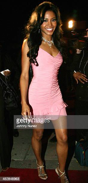 Amerie during Amerie Album Release Party for Touch April 26 2005 at Quo in New York New York United States