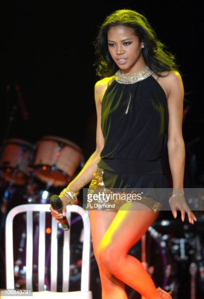 Amerie during Amerie in Concert at the Philips Arena in Atlanta July 15 2005 at Philips Arena in Atlanta Georgia United States