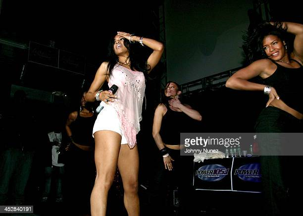 Amerie during Amerie's 1051 FM party in New York New York United States