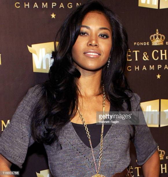 Amerie during Celebration of Moet Chandon's Be Fabulous Ad Campaign at Skylight Studios in New York City New York United States