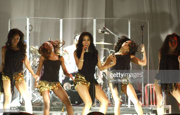Amerie during Destiny's Child in Concert at Madison Square Garden in New York City July 29 2005 at Madison Square Garden in New York City New York...