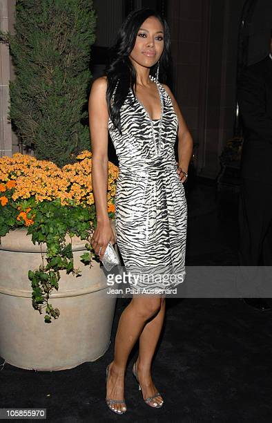 Amerie during Escada Grand Opening Of The Beverly Hills Flagship Boutique Arrivals at Escada Beverly Hills in Beverly Hills California United States