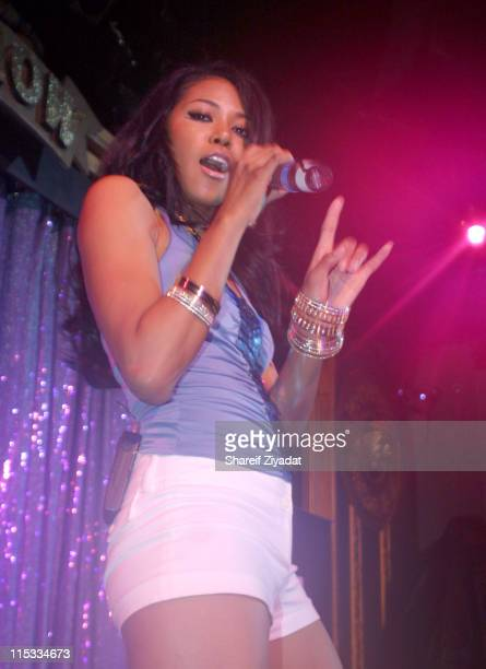 Amerie during ESPN PreDraft Party With Special Performance by Amerie April 23 2005 at Show in New York City New York United States