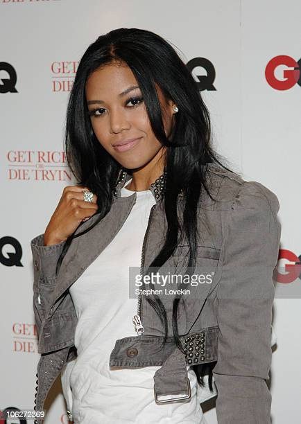 Amerie during GQ Hosts a Special Screening of Get Rich or Die Tryin Inside Arrivals at Loews 19th Street East Theatre in New York City New York...
