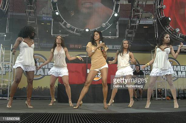Amerie during Hot 97 Summer Jam 2005 Concert at Giants Stadium in East Rutherford New Jersey United States