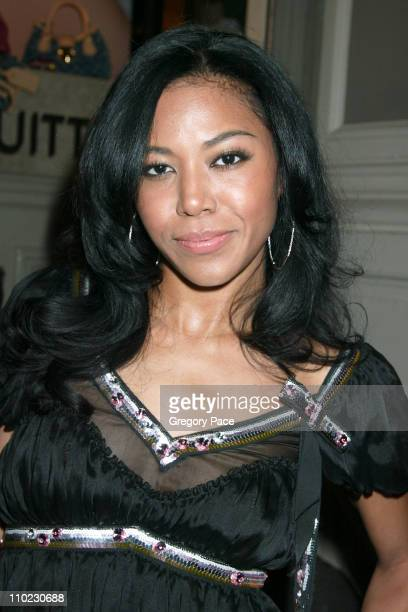 Amerie during Louis Vuitton and Interview Magazine Host Party for Pharrell Williams and Nigo to Celebrate Their Sunglasses Collection at Louis...
