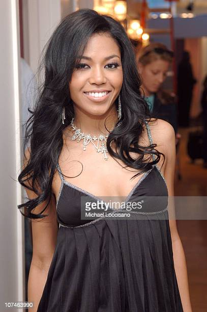 Amerie during MTV Presents HipHop Week April 26 2005 at MTV Studios Times Square in New York City New York United States