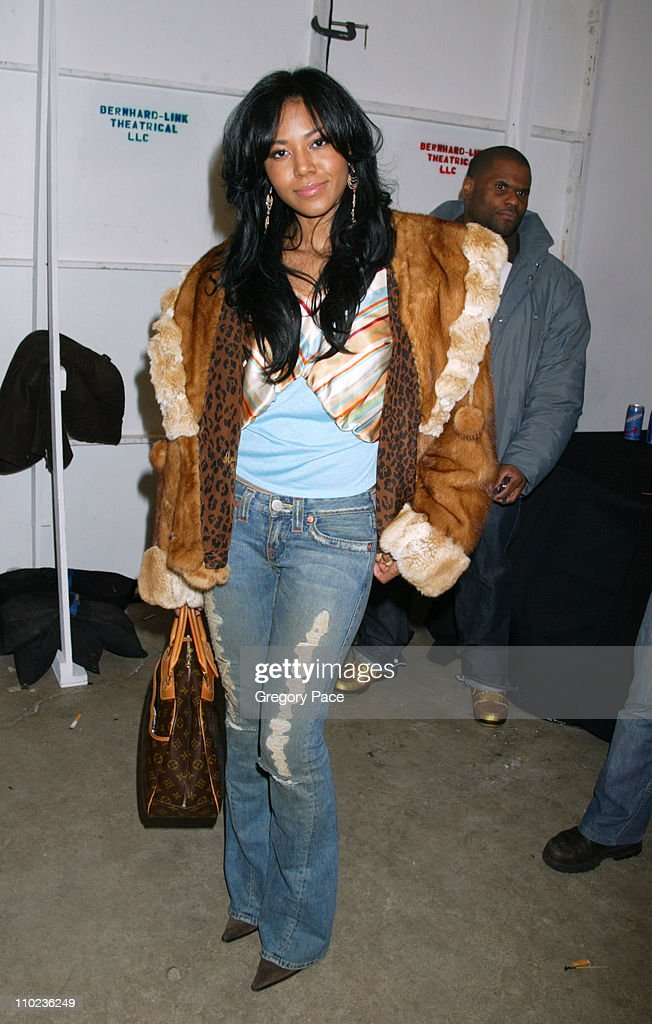 Olympus Fashion Week Fall 2005 - Baby Phat - Front Row and Backstage