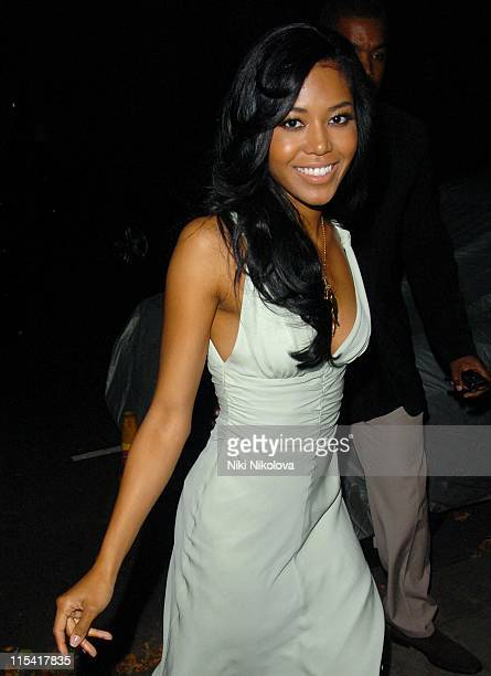 Amerie during Project Red Aid for Africa Party September 20 2006 at Private Residence in London Great Britain
