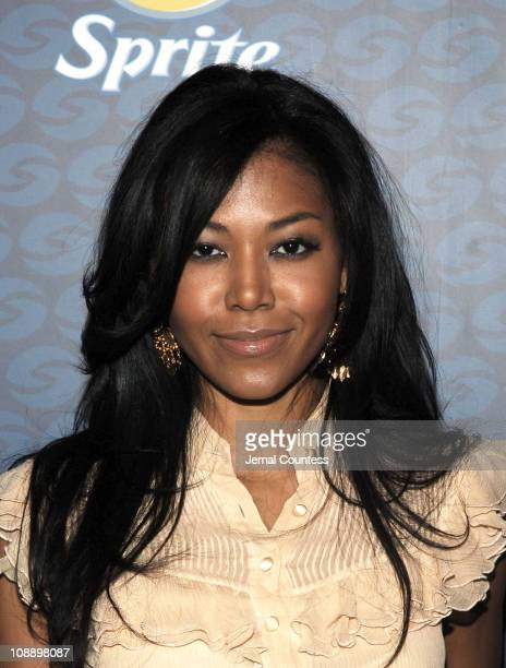 Amerie during Sprite Street Couture Showcase - Arrivals and Afterparty at Guastavino's in New York City, New York, United States.