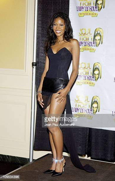 Amerie during The 8th Annual Soul Train 'Lady of Soul' Awards Press Room at Pasadena Civic Auditorium in Pasadena California United States