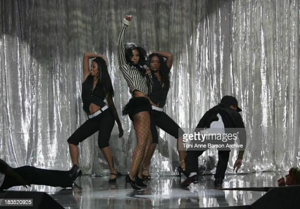 Amerie performs 1 Thing during 2005 World Music Awards Show at Kodak Theatre in Los Angeles CA United States