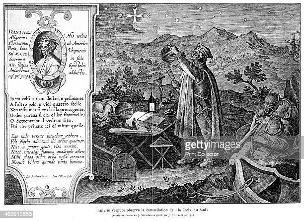 Amerigo Vespucci Italianborn Spanish explorer Vespucci observing the constellation of the Southern Cross During his voyages Vespucci explored much of...