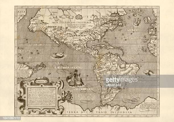 Amerika 1602 Arnoldo Arnoldi Siena 1600