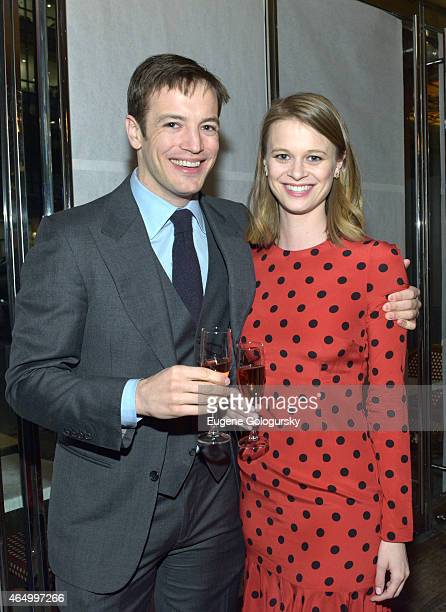 Ames Brown Alison Palm attend the Tom Gold Dance Opening Night 2015 on March 2 2015 in New York City
