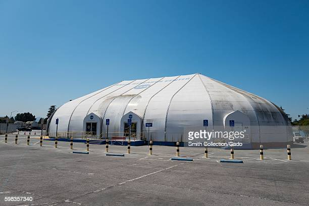 Ames Exploration Center a visitor center at the NASA Ames Research Center campus in the Silicon Valley town of Mountain View California August 25 2016