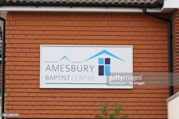 Amesbury Baptist Centre in Amesbury Wiltshire which has been cordonedoff as a major incident has been declared after it was suspected that two people...