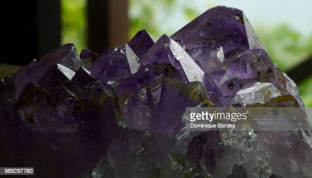 amethyst against day. - fluorite stock pictures, royalty-free photos & images