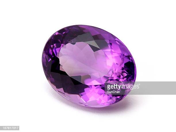 amethyst gemstone - amethyst stock pictures, royalty-free photos & images