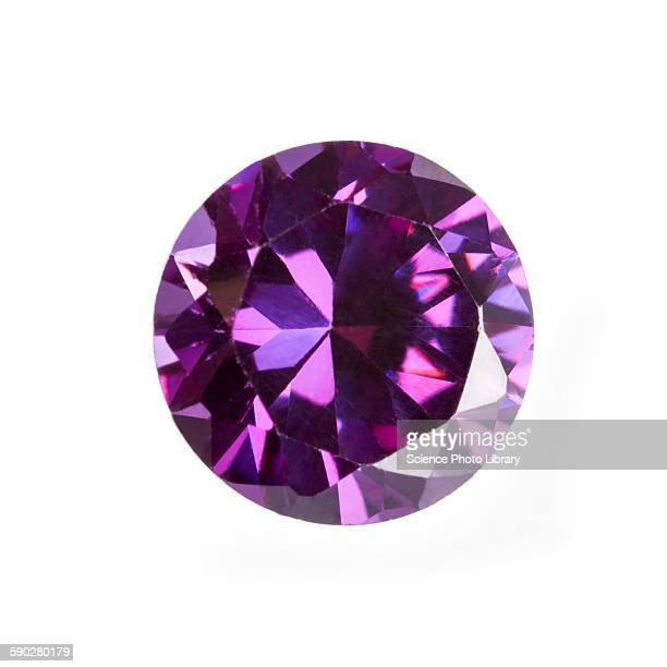 amethyst gemstone - amethyst stock photos and pictures