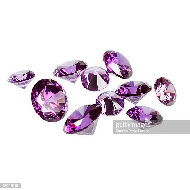 amethyst gemstones - amethyst stock pictures, royalty-free photos & images