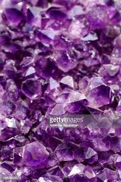 amethyst geode - amethyst stock photos and pictures