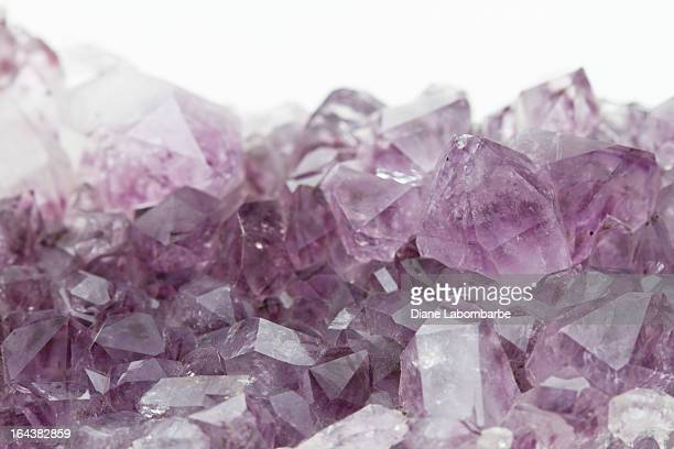 amethyst geode - amethyst stock pictures, royalty-free photos & images