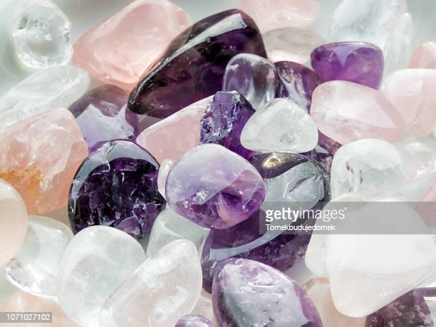 amethyst - precious gemstone stock pictures, royalty-free photos & images