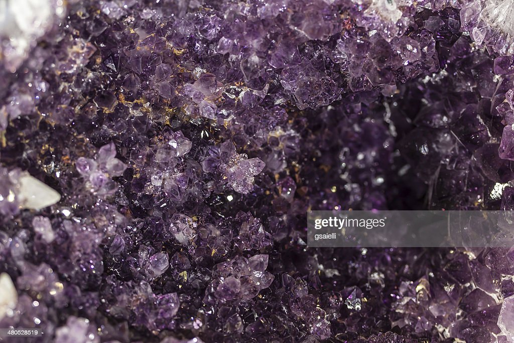 Amethyst Quartz : Stock Photo