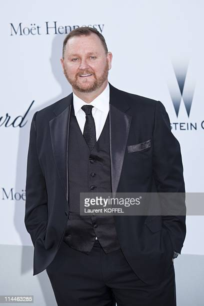 amfAR CEO Kevin Robert Frost attends amfAR's Cinema Against AIDS Gala during the 64th Annual Cannes Film Festival at Hotel Du Cap on May 19 2011 in...