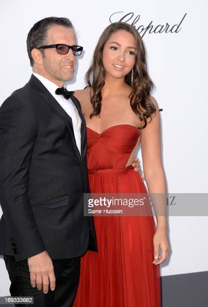 amfAR Chairman of the Board Kenneth Cole and Catie Cole attend amfAR's 20th Annual Cinema Against AIDS during The 66th Annual Cannes Film Festival at...