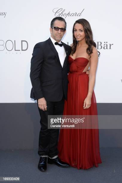 amfAR Chairman of the Board Kenneth Cole and his daughter Catie Cole attend amfAR's 20th Annual Cinema Against AIDS during The 66th Annual Cannes...
