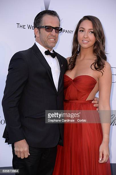 amfAR Chairman of the Board Kenneth Cole and his daughter Catie Cole attend amfAR's 20th Annual Cinema Against AIDS during the 66th Cannes...
