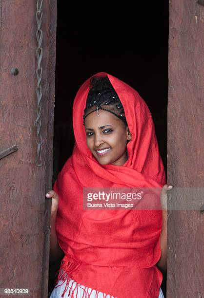 amhara woman - ethiopia stock pictures, royalty-free photos & images