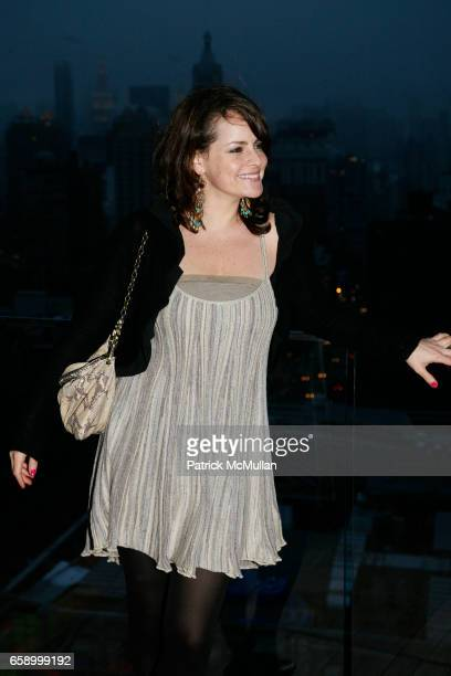 Ami Ankin attends THE COOPER SQUARE HOTEL MINIBAR EXCLUSIVES UNVEILING at Cooper Square Hotel Penthouse on April 21 2009 in New York City